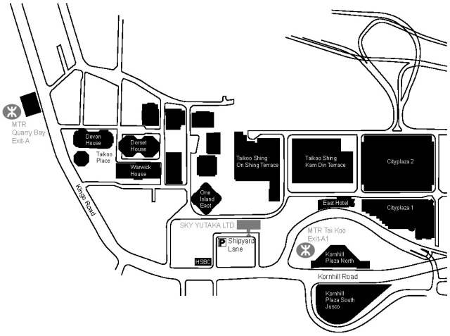 Office Location Map3 BW