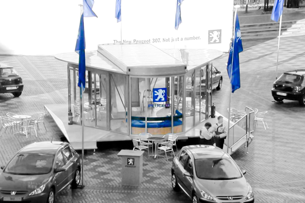 Mobile Exhibition Gallery for Peugeot